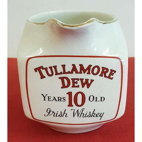 8 - Original <em>Tullamore Dew</em> Whiskey Water Jug by Arklow Pottery...