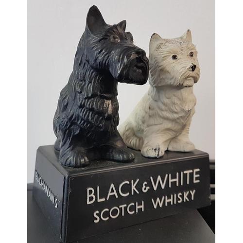 10 - Pair of <em>Black & White Scotch Whisky</em> Dogs, c.5.5 x 6in...