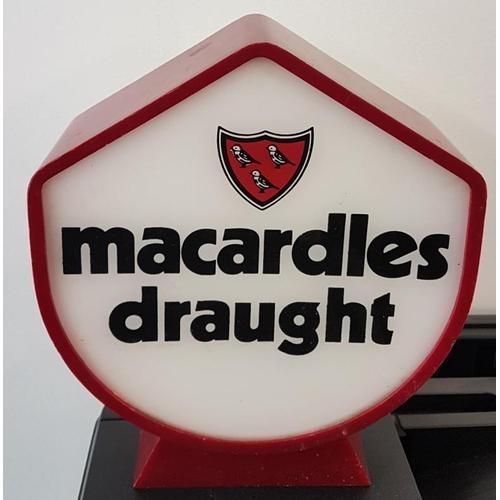 11 - <em>Macardles</em> Draught Tap Front, c.7.5 x 9in...