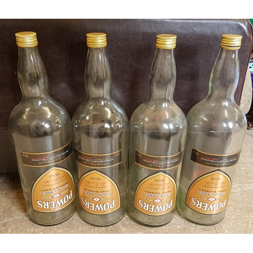 21 - Four 4.5 litre <em>Power's Whiskey</em> Display Bottles...