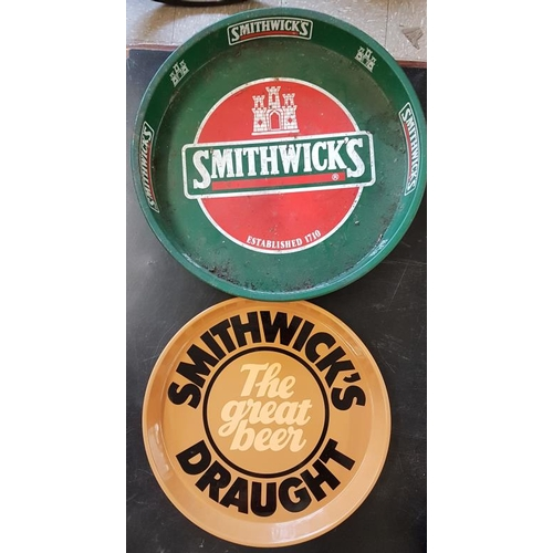 34 - Two <em>Smithwicks</em> Pub Trays...