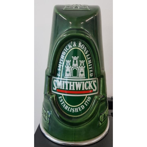 37 - <em>Smithwick's</em> Ceramic Tap Front, 9.5in tall...