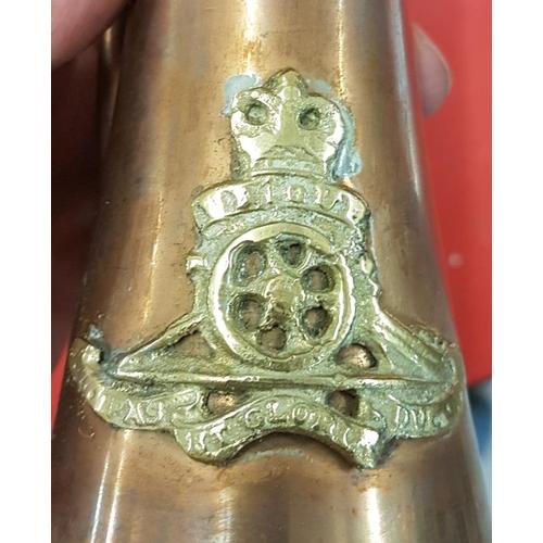 38 - Replica Brass and Copper Military Bugle...
