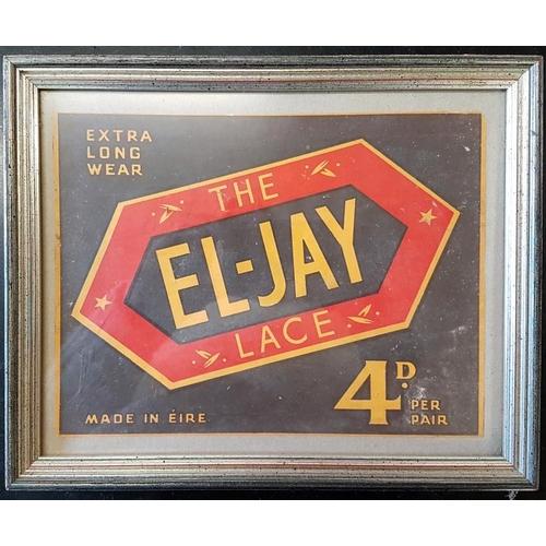 40 - <em>El-Jay Lace</em> Extra Long Wear Advertisement - 11 x 8ins...