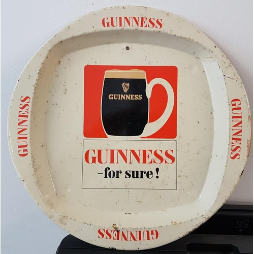 41 - <em>Guinness For Sure</em> Serving Tray, c.12in diam...