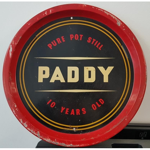 42 - Paddy Pure Pot Still Whiskey Serving Tray, c.12.5in diam...