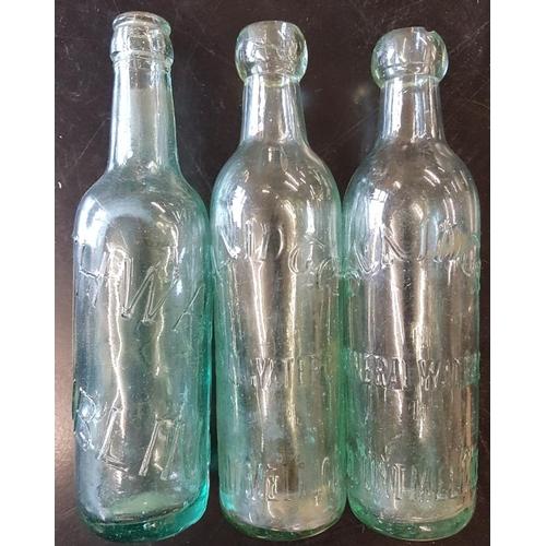 46 - Two '<em>Slainte' Mineral Water, Mountmellick</em> Bottles and a <em>Thwaites, Dublin</em> Bottle...