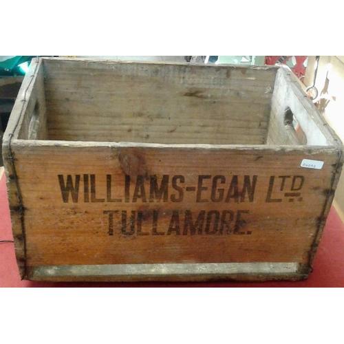 122 - <em>'Williams-Egan Ltd., Tullamore</em>' Crate...