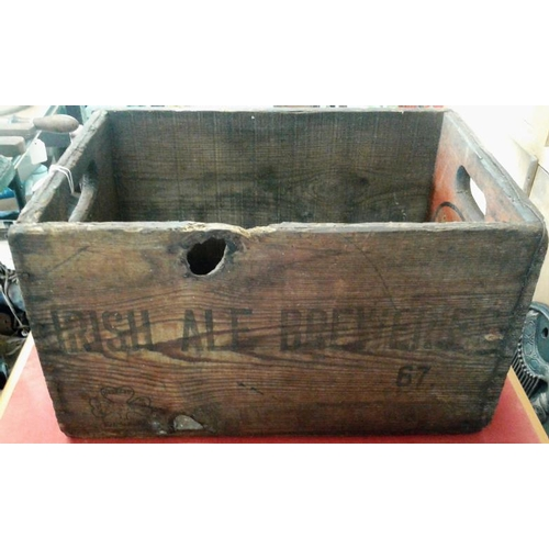 139 - 'Irish Ale Brewery' Crate...