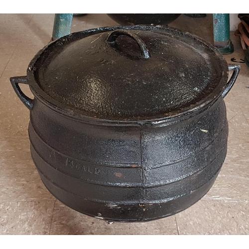 141 - 12 Gallon Traditional Cast Iron Skillet Pot...