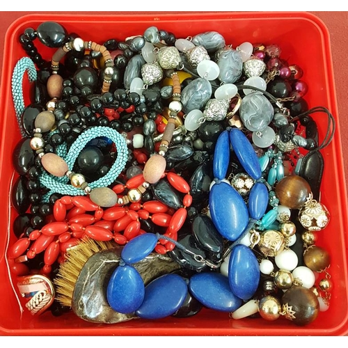 18 - Box of Costume Jewellery, Silver etc....