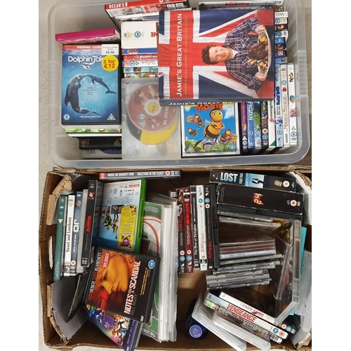 22 - Two Boxes of DVDs etc....