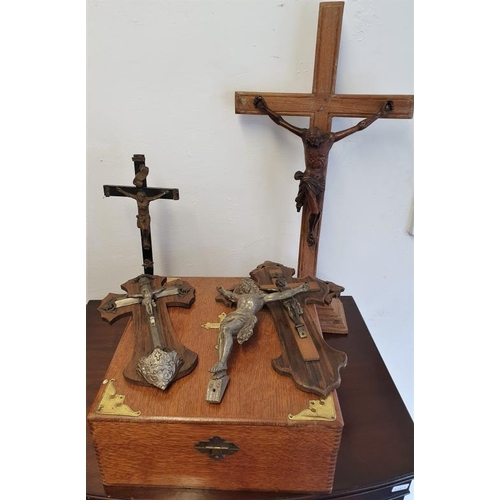 32 - Collection of Crucifixes etc....