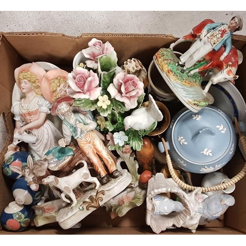 92 - Box of Various Ceramics, etc....