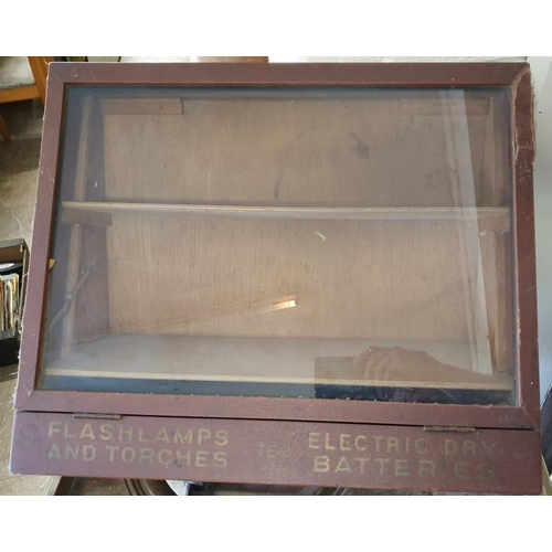 109 - TEC Flashlamp and Torches Shop Display Cabinet, c.22 x 18in...