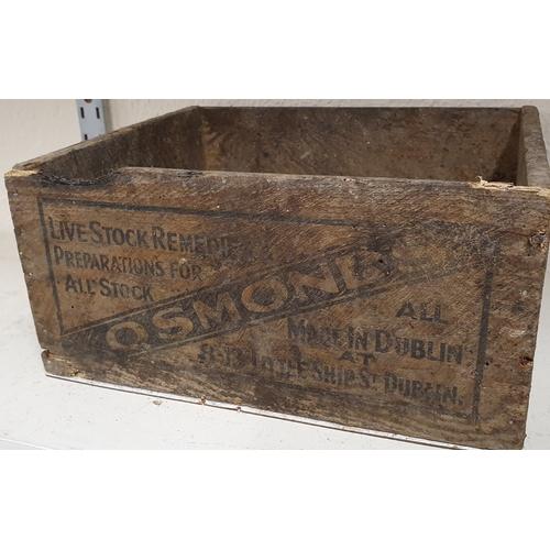 173 - <em>Osmond Dublin</em> crate - Livestock Remedies and Preparations...
