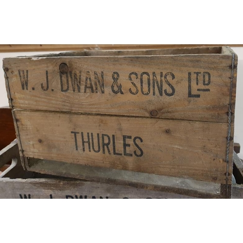 175 - <em>W. J. Dwan & Sons Ltd., Thurles</em> Wooden Bottle Crate...