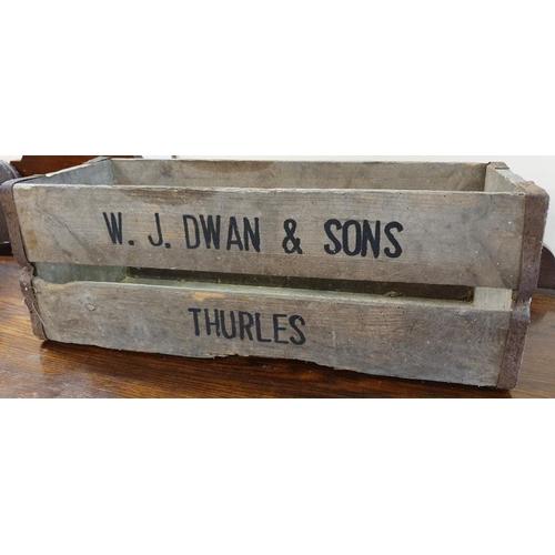 179 - <em>W. J. Dwan & Sons Ltd., Thurles</em> Wooden Bottle Crate...