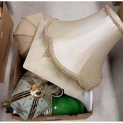 89 - Box of Various Lamps...