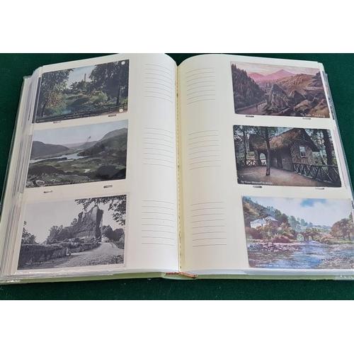 31 - Album of c.300 Old Irish Postcards...