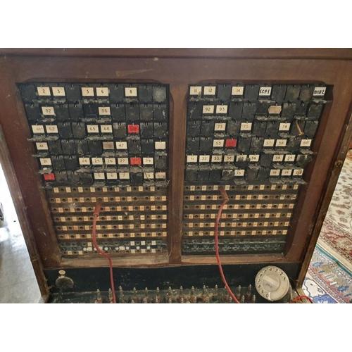 3 - Rare Vintage Irish Telephone Exchange Unit, originally from Birr Telephone Exchange...