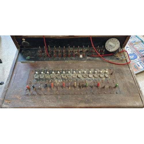 3 - Rare Vintage Irish Telephone Exchange Unit, originally from Birr Telephone Exchange...