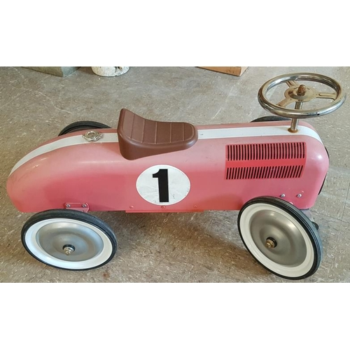 4 - Vintage Child's Racing Car...