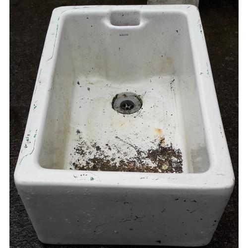 10 - Belfast Sink - c. 16 x 24.5ins...