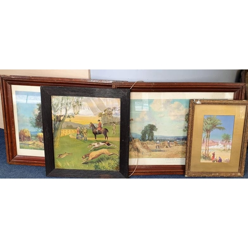 30 - Pair of Landscape Prints and two other...