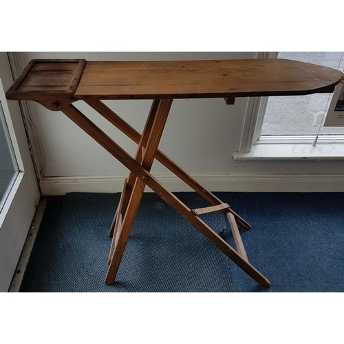 39 - Old Wooden Ironing Board...