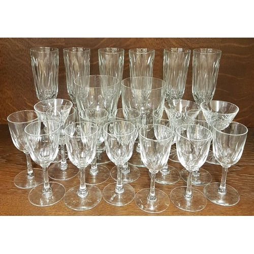 46 - Collection of Waterford Crystal Liqueur Glasses and Rummers...