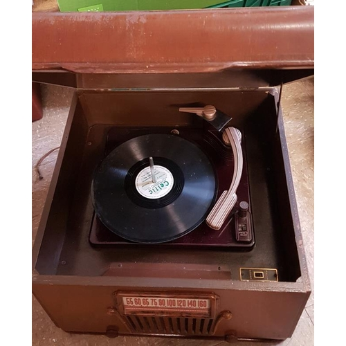 56 - Sonora Electric Phonograph (made in Chicago, 1947)...