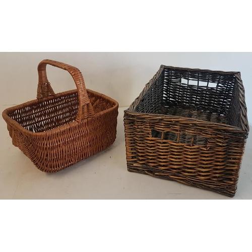 59 - Two Wicker Baskets...