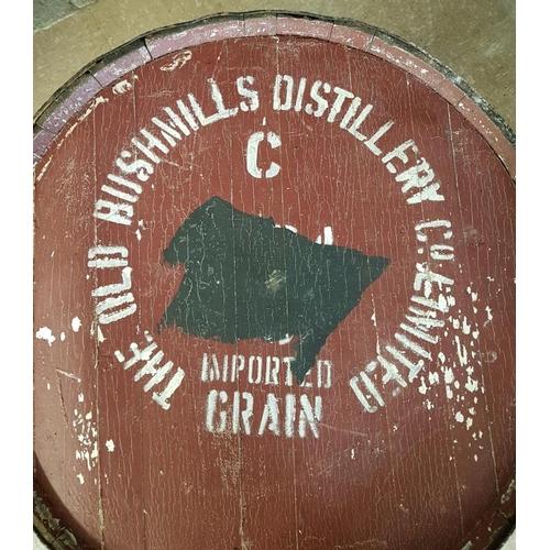 66 - Large<em> Bushmills</em> Barrel - c. 35ins high and 24ins diameter...