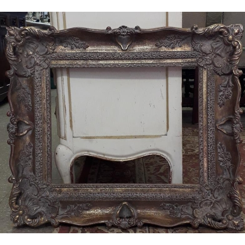 114 - Gilt Picture Frame - c. 29 x 25ins...