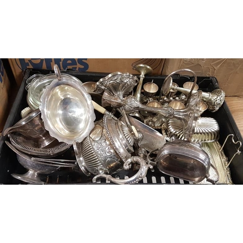 127 - Quantity of Silver Plate Items, etc....