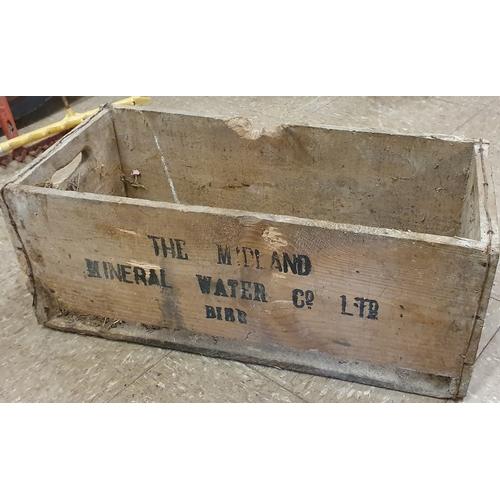 132 - <em>Midland Mineral Water</em>Crate...
