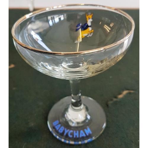 288 - Four Babycham Glasses...