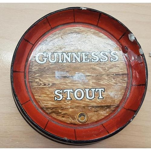 288b - Guinness Stout Barrel Pub Ashtray, by Minton Ltd...