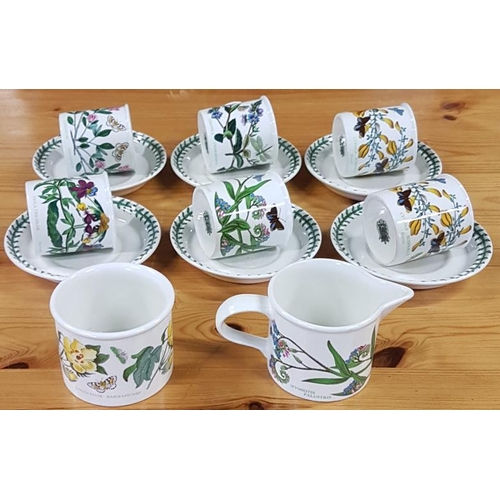 13 - Portmeirion China Teaset - <em>Botanic Garden</em> Pattern...