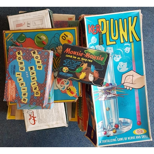 45 - Large Quantity of Board Games, etc....