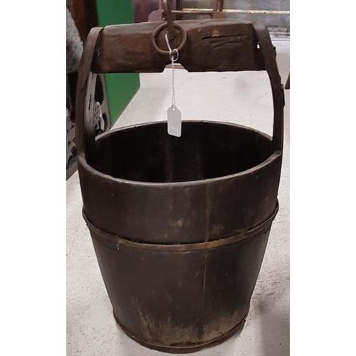 74 - Pine Water Bucket...