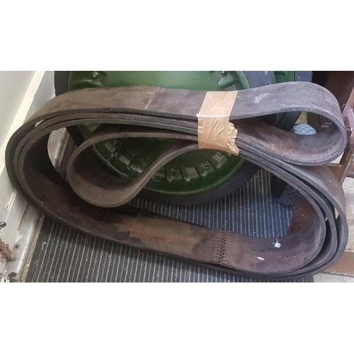 78 - Threshing Machine Belt...