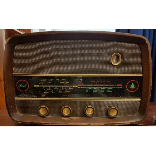 94 - Old Bush Valve Radio...