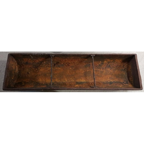 1a - Victorian Cast Iron 3-Section Pig Feeder...