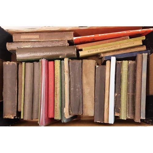 1 - <em>Education:</em> Box of approx. 30 Irish school text books – mostly nineteenth century &nda...