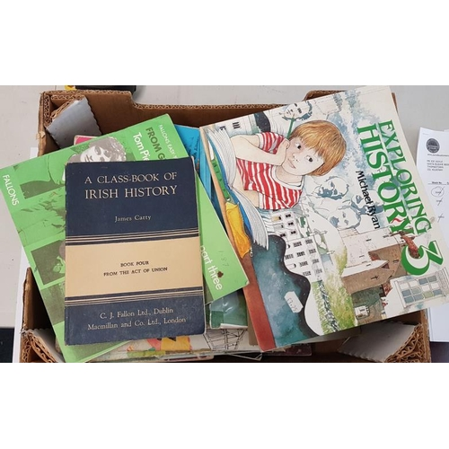 2 - <em>Education:</em> Bundle of approx. twenty-five primary school history books, mostly from the 1970...