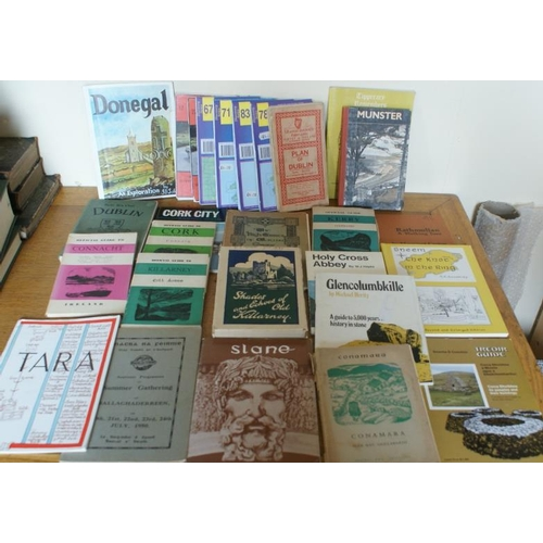4 - Large bundle of<em> pamphlets/booklets/OS Discovery Series Maps</em> – various parts of countr...