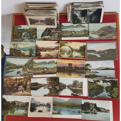 16 - Lot of Vintage Irish postcards. Approximately 300 attractive postcards, mostly 1900-1930...