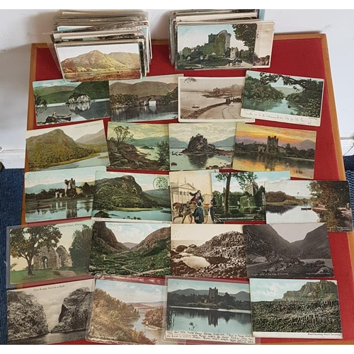 17 - Vintage Irish postcards. Approximately 300 attractive postcards, mostly 1900-1930...